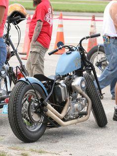 Ironhead bobber at Daytona Biketoberfest 2013 highlights