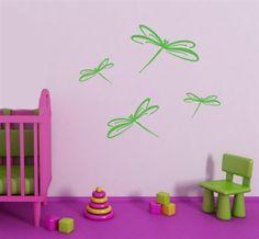 Dragonflies WALLTAT