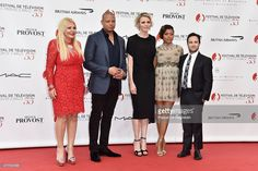 Monika Del Campo Bacardi, Terrence Howard, Princess Charlene of Monaco, Taraji P. Henson and Danny Strong arrive to attend the opening ceremony of the 55th Monte Carlo TV Festival on June 13, 2015 in Monte-Carlo, Monaco.