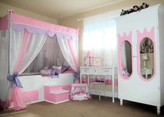 Home Design and Interior Design Gallery of Kids Room Of Canopy Design