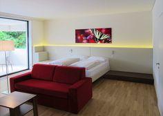 Modern und stilsicher - Zimmer und Suiten im Karawankenhof