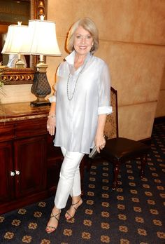 A great travel outfit that can be dressed up or down from Fifty, not Frumpy- Classic. Casual