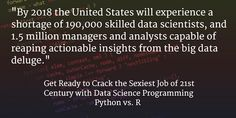 Data Scientist - The sexiest Job of the 21st Century. http://www.dezyre.com/article/data-science-programming-python-vs-r/128