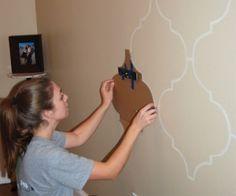 DIY Wall Stencil Tutorial