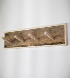 Reclaimed Wood Fence Board Coat Rack by Gray Fox Design Works on Scoutmob Shoppe Fence Boards, Grey Fox, Dressing, Fox Design, Creative Industries, Decor Crafts, Home Decor, Wood Pallets, Barn Wood