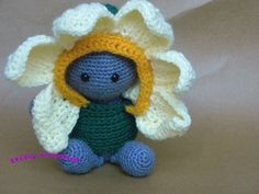 Inchoate Daffodil Crochet Kit by ItchyCrochetDesigns on Etsy