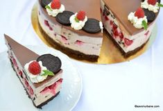 reteta cheesecake oreo cu zmeura ciocolata Cheesecake Cupcakes, Cheesecakes, Oreo, Food And Drink, Sweets, Candy, Desserts, Recipes, Pie