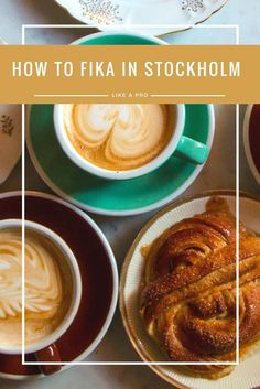 In Stockholm, fika is a simple coffee break but yet so much more. To fika is to take a break from the daily grind and relax with a cup of coffee and a sweet treat. Find out why we have so much Stockholm love and get our tips for doing fika like a pro in Stockholm Sweden.