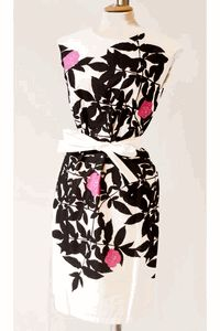 Marimekko dress - I had an Ann Taylor dress similar to this years ago but someone spilled red wine on it at a party and I never could get it out :( Cute Dresses, Vintage Dresses, Vintage Outfits, Awesome Dresses, Vintage Inspired Fashion, Retro Fashion, Vintage Fashion, Womens Fashion, Pretty Outfits