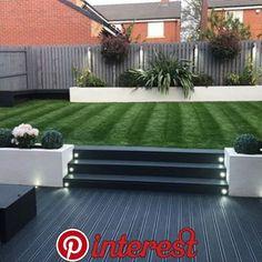 40 Fabulous Modern Garden Designs Ideas For Front Yard and Backyard Back Garden Design, Modern Garden Design, Landscape Design, Small Garden Ideas Modern, House Garden Design, Modern Design, Landscape Sketch, Front Yard Design, Back Garden Landscaping