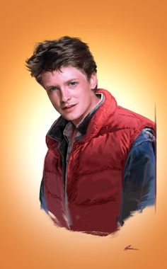 Marty McFly - Back to the Future - Dave Seguin Marty Mcfly, The Future Movie, Back To The Future, Tv Actors, Actors & Actresses, Science Fiction, Michael Fox, Comic Manga, Bttf
