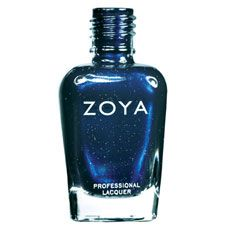 Zoya Nail Polish in Indigo is a Blue, Metallic Nail Polish Color.Buy Zoya Nail Polish in Indigo and see swatches and color descriptions. Navy Nail Polish, Metallic Nail Polish, Nail Polish Art, Nail Polish Trends, Nail Polish Colors, Nail Polishes, Indigo Nails, Nail Polish Collection, Zoya Collection