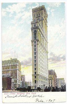 Vintage 1907 Times Square, www.RevWill.com