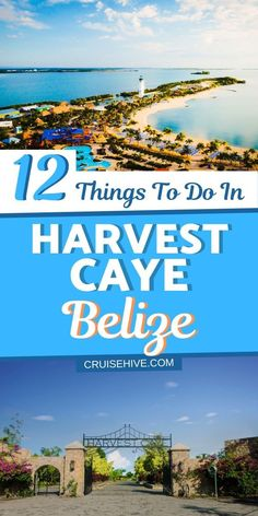 travel tip cruise Everything you need to know the on things to do in Harvest Caye, Belize during a cruise vacation. Also with cruise and travel tips on the Norwegian Cruise Line private island in the Western Caribbean. Best Cruise, Cruise Port, Cruise Tips, Cruise Travel, Cruise Vacation, Italy Vacation, Best Vacation Destinations, Best Vacation Spots, Uganda Travel