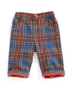 Style: Eleven Wardrobe Picks For Rad Kids  (PLAID! Cute pants via Joules UK)