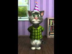 """Funny Cat """" Marry Me """" Jason Derulo – Gato tom cantando Marry me de Jason Derulo Happy Birthday Little Brother, Happy Birthday Ecard, Happy Birthday Video, Birthday Songs, Singing Happy Birthday, Happy Birthday Messages, Birthday Greetings, Funny Birthday, Talking Tom Cat"""