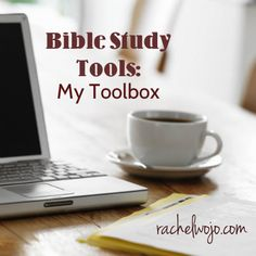 You like apps? online resources? computer software? books to prop up on your desk? Got ya covered in my Bible study toolbox!