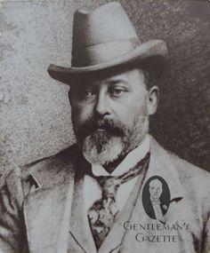 Prince of Wales Bertie in Homburg Hat ca. 1890