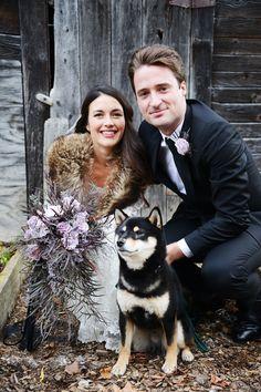 enchanted forest Halloween wedding - photo by Birke Photography http://ruffledblog.com/enchanted-forest-halloween-wedding