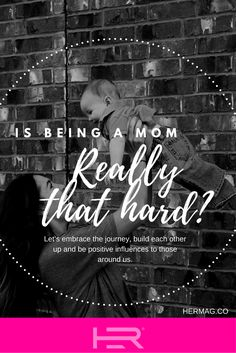 Is being a mom hard? Or do we make it hard by constantly blogging how hard it is?