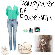 """""""Daughter of Poseidon"""" by ella-bennett on Polyvore maybe different shoes though"""