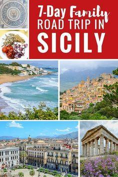 Adi takes a family road-trip on the Italian island of Sicily and shares her slow travel highlights. Sicily Travel, Italy Travel Tips, Slow Travel, Italy Destinations, Sicily Italy, Venice Italy, Verona Italy, Puglia Italy, Toscana Italy