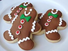 Items similar to Classic Gingerbread Man Hand Decorated Sugar Cookies - 1 dozen on Etsy Gingerbread Man, Gingerbread Cookies, Christmas Cookies, Christmas Time Is Here, Sugar Cookies, Cookie Recipes, Sweets, Classic, Desserts