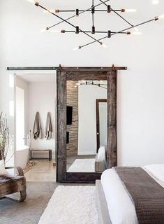 Ideas of Farmhouse Bedroom Decorating Ideas. So, today,. Ideas of Farmhouse Bedroom Decorating Ideas. So, today, we have collated Farmhouse bedroom ideas designs that will inspire you. Modern Rustic Bedrooms, Farmhouse Style Bedrooms, Farmhouse Master Bedroom, Master Bedroom Design, Contemporary Bedroom, Home Decor Bedroom, Rustic Modern, Bedroom Rustic, Trendy Bedroom