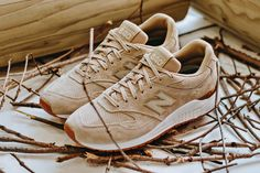"""New Balance 840 """"Tan"""" Proves That Less Is More: Available to purchase now. Tan Sneakers, New Balance Sneakers, New Balance Shoes, Iowa, New Balance Damen, Contemporary Fashion, Shoe Collection, What I Wore, Athleisure"""