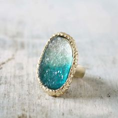 Ombre Druzy Ring , Sweet Bohemian Jewelry on Wanelo Druzy Jewelry, Druzy Ring, Jewelry Box, Jewelery, Gemstone Rings, Jewelry Accessories, Unique Jewelry, Affordable Jewelry, Best Friend Jewelry