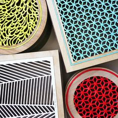 harbinger co square honeycomb box $74