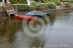 Canal Docked Boats - Download From Over 26 Million High Quality Stock Photos, Images, Vectors. Sign up for FREE today. Image: 37278321