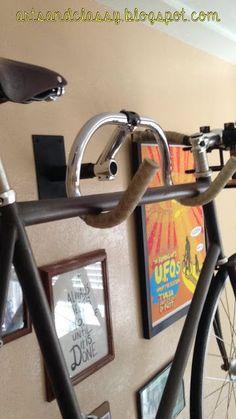 Creative bicycle hanger rack