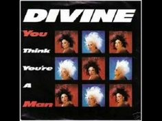 Divine - You Think You're a Man (High Energy) Italo Disco, High Energy, Thinking Of You, Youtube, Cover Pages, Musica, Thinking About You, Youtubers, Youtube Movies