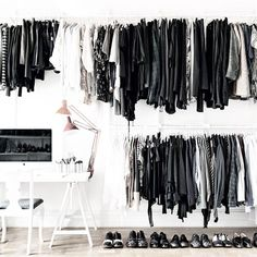 your office and your closet together, cool!