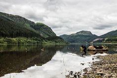 Schottland Reise Loch Lubnig