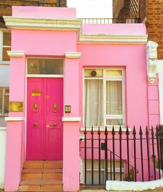#FBF to my the dreamiest pink heaven #happyhousedreams I found in Notting Hill  by sophlog