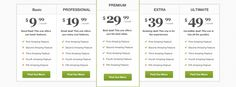 Pricing Table Freebie, high quality!