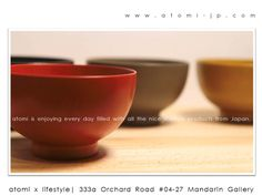 Visit #atomi for all the made in Japan and designed by Japanese items.