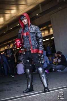 [Self] Full gear view of my Red Hood/Jason Todd from NYCC Red Hood Costume, Red Hood Cosplay, Robin Cosplay, Male Cosplay, Cosplay Diy, Best Cosplay, Casual Cosplay, Anime Cosplay, Nightwing Cosplay