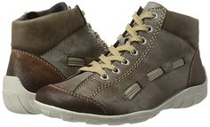 Rieker Damen L6543 Hohe Sneaker
