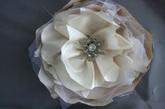 I'm sure you've noticed the 3000 fabric flower tutorials out there. I thought I'd share links to a few of my favorites- in a variety of sty...