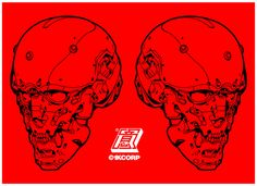 1KCORP   X   DOBU-HAISHEN // SYNTHETIC SKULL (front 3/4)