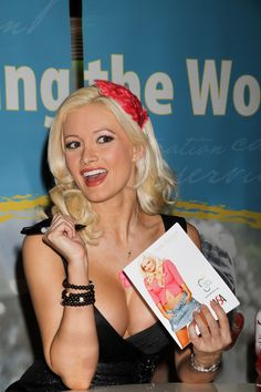 Holly Madison attends the World Shoe Accessories Convention