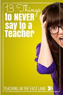 13 Things to NEVER S