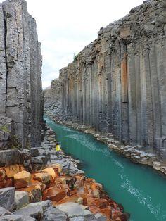 Stuðlagil (Basalt Column Canyon), Eastern Icelan | by Our Wanders