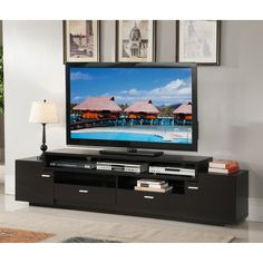 Shop Enitial Lab  IDI-15121 Sulton 84-in TV Stand at ATG Stores. Browse our tv stands, all with free shipping and best price guaranteed.