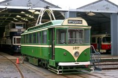 Car No 167 at the Crich Tramway Blackpool England, Commuter Train, London Transport, Light Rail, Transportation, Deck, Around The Worlds, America, City