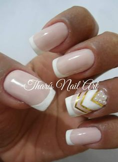 Nail art for wedding.... Luxury...