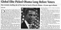 1990S Russians already knew about Obama